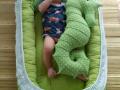 Giường ngủ cho bé nhồi bông|giường ngủ bông trẻ em