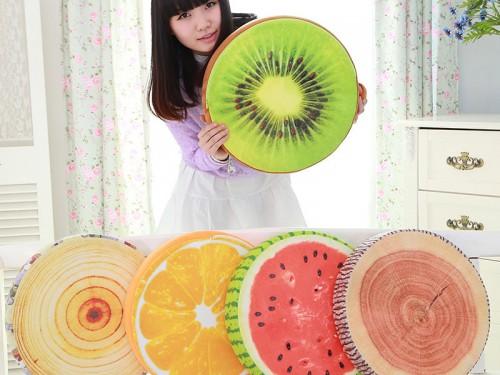 Gối hoa quả|Gối trái cây|Gối trái cây 3D