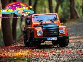 Ô tô điện trẻ em Land Rover cao cấp