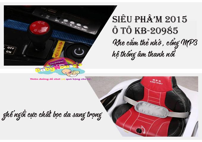 Ô tô điện trẻ em KB20985 cao cấp giá rẻ