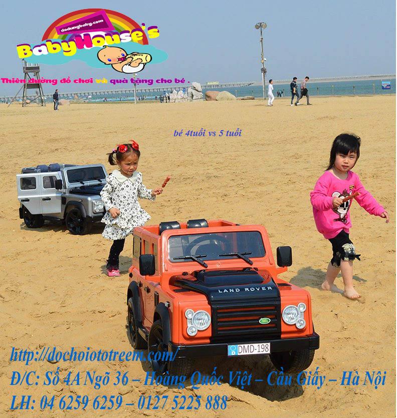 Ô tô điện cao cấp cho bé