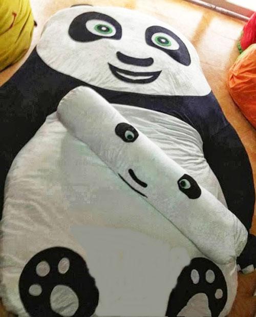 Đệm thú bông gấu trúc panda