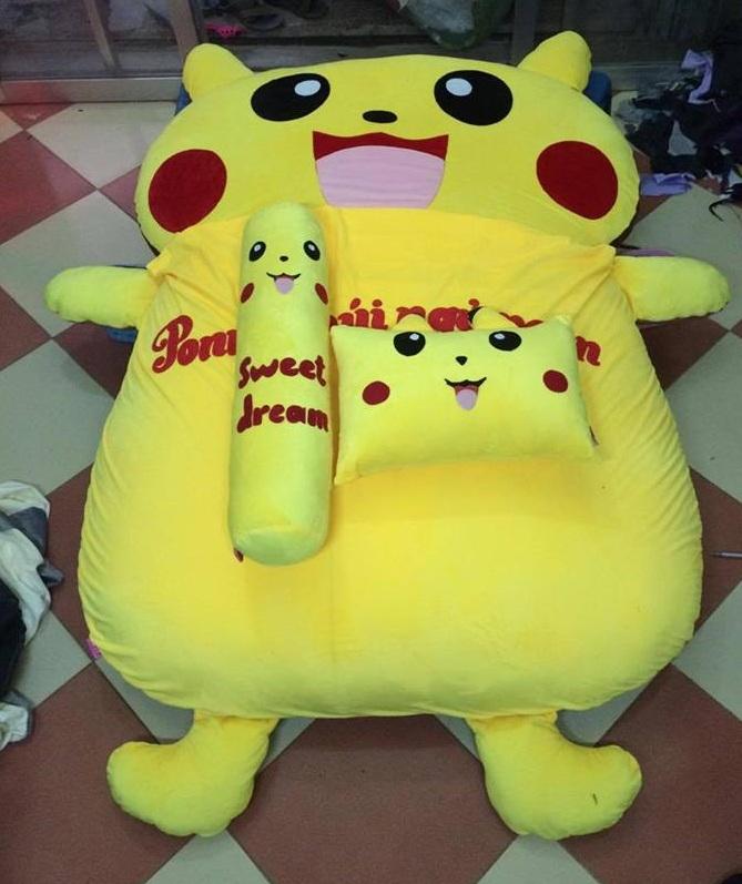 Đệm thú bông hình Pikachu NTB 204