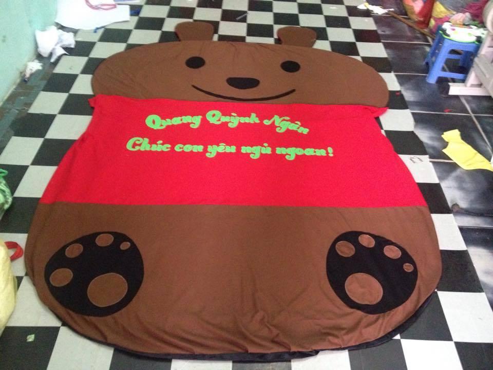 Đệm thú bông gấu Pooh cao cấp