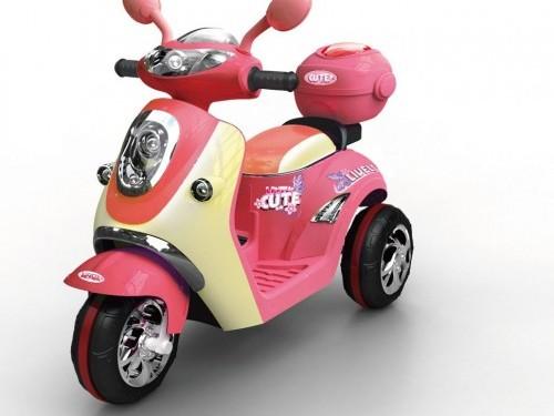 xe máy điện cho bé gái dễ thương