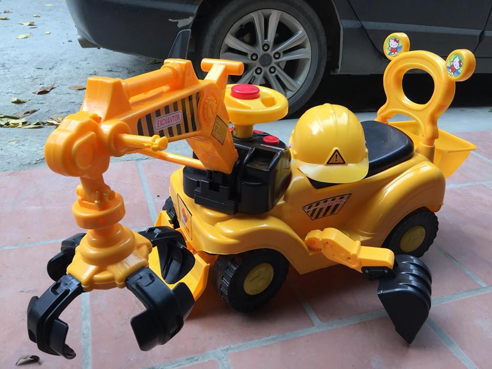 Xe cần cẩu máy xúc trẻ em WJ-118