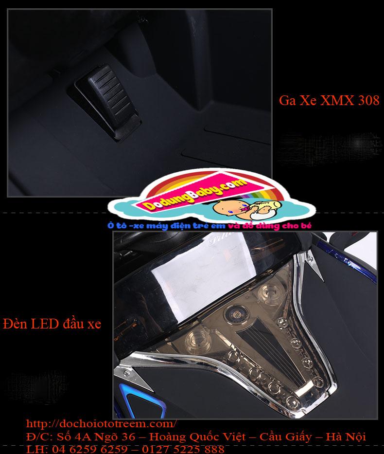 Ô tô điện thể thao trẻ em XMX803