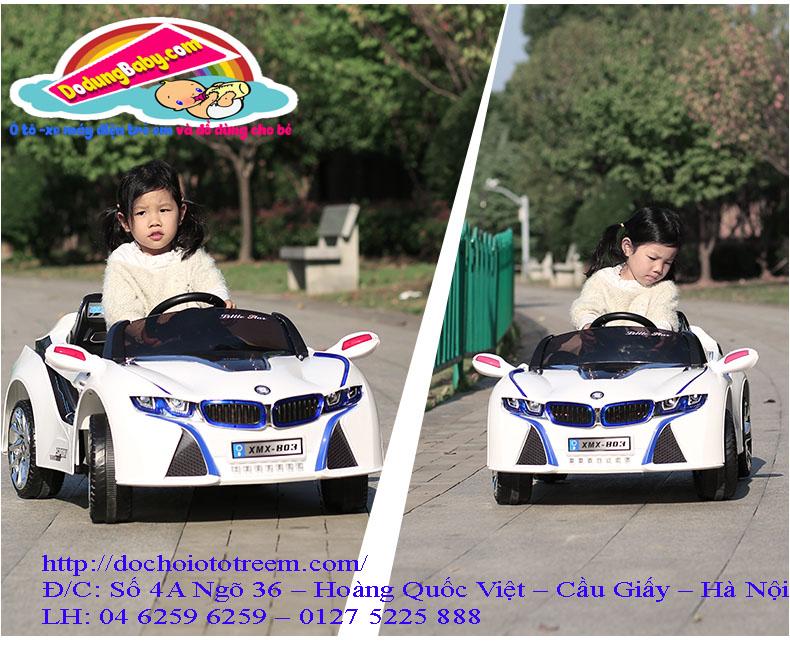 Ô tô trẻ cho bé tại Hà Nội XMX803