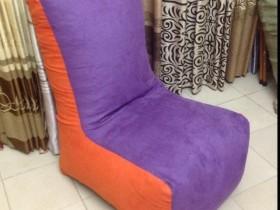 Ghế lười hạt xốp sofa màu tím