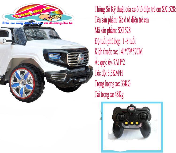 Xe ô tô điện cao cấp cho bé SX1528