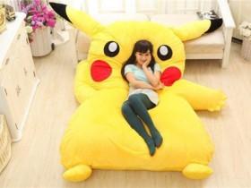 Nệm thú bông cao cấp Pikachu