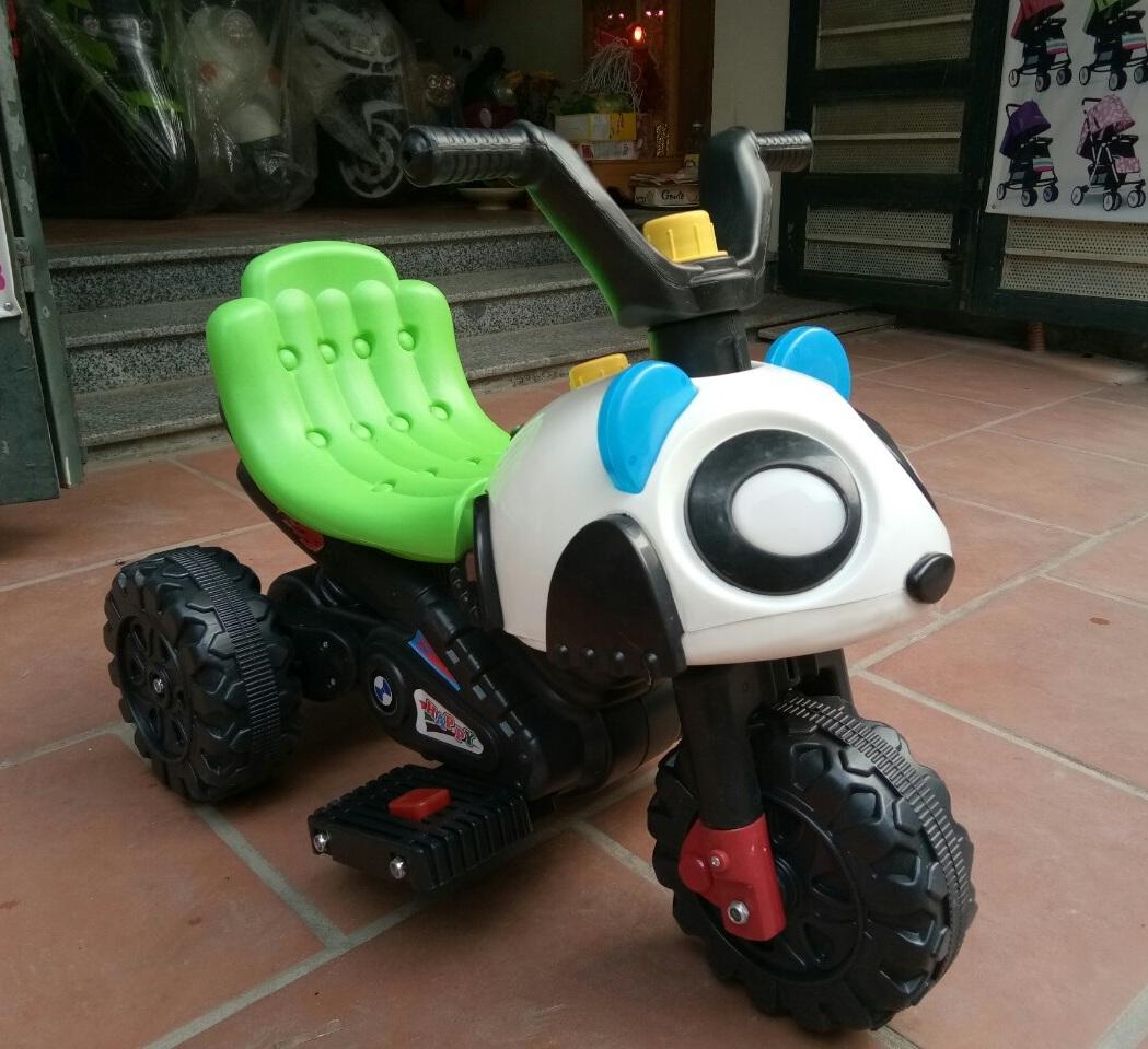 Xe máy điện trẻ em Gấu Panda 008