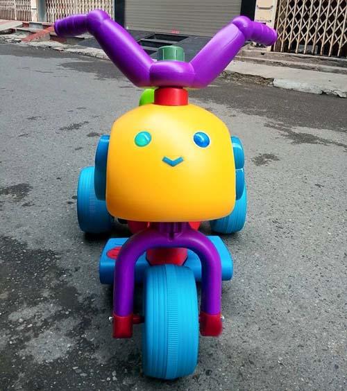 Xe máy điện trẻ em cực đáng yêu H8018