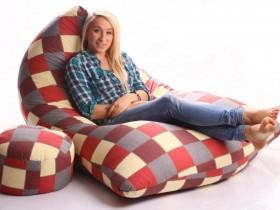 ghế lười hạt xốp giá rẻ hình thuyền
