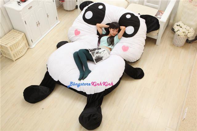 đệm thú bông hình gấu panda