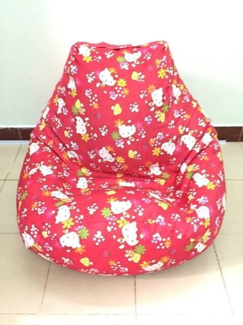 ghế lười hạt xốp hình kitty giá rẻ