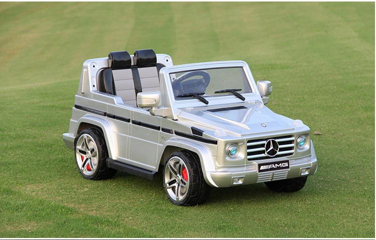 xe ô tô điện trẻ em mui trần AMG - G55