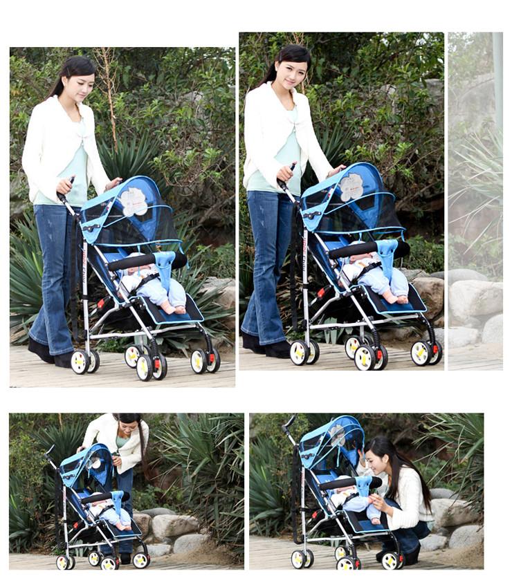 xe đẩy em bé HP308 giá rẻ