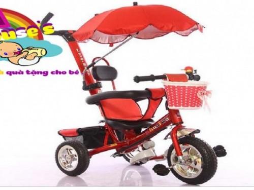 xe ba bánh đẩy trẻ em
