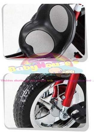 xe ba bánh đẩy trẻ em F08 cao cấp giá rẻ
