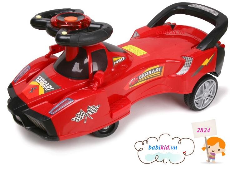 xe lắc ô tô mới 2015 cho bé