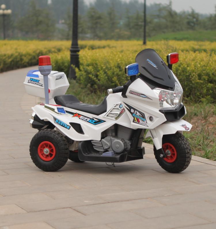 xe máy điện cảnh sát cho bé JT015