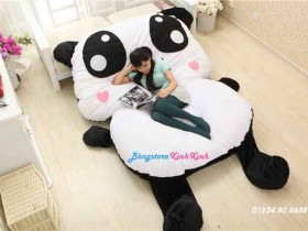 Nệm thú bông gấu panda