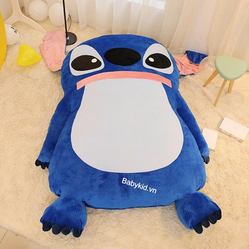 Nệm thú bông hình Stitch xanh NTB 206