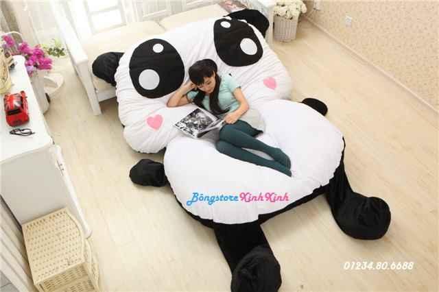Nệm thú bông gấu panda cao cấp giá rẻ