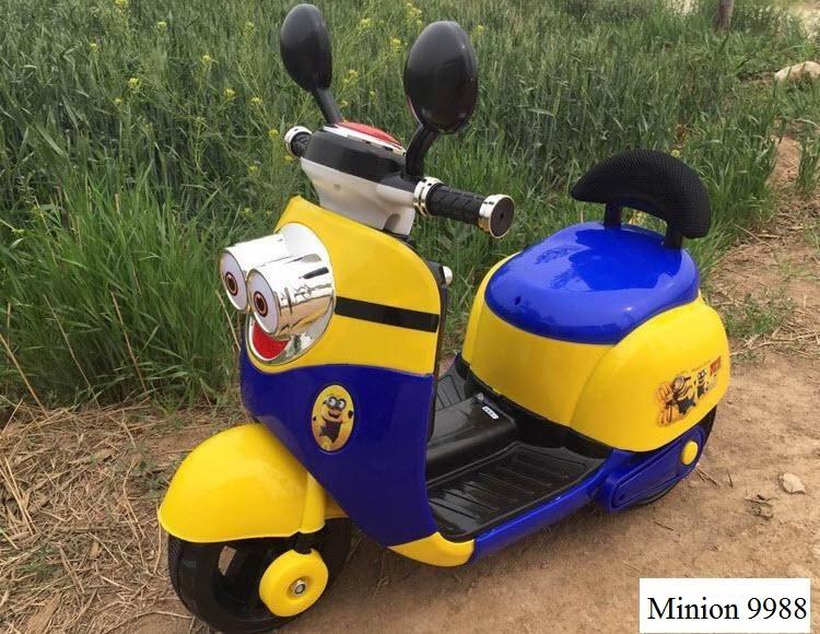 Xe máy điện trẻ em Minion HLM-9988