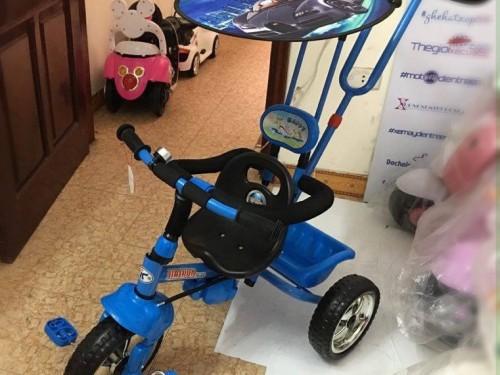 Xe đẩy trẻ em ba bánh B33 (4)