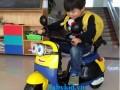 Xe máy điện trẻ em Minion 9988 ngộ nghĩnh đáng yêu