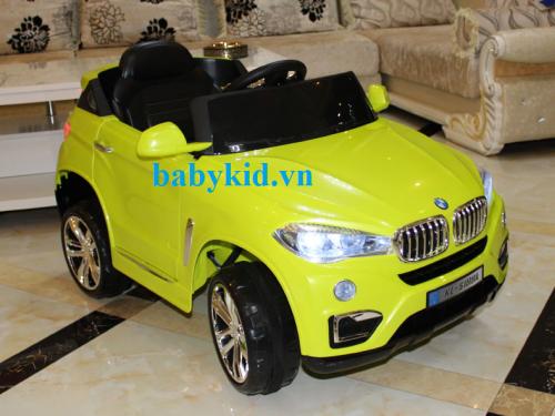 Xe ô tô điện trẻ em KL-5118A màu vàng