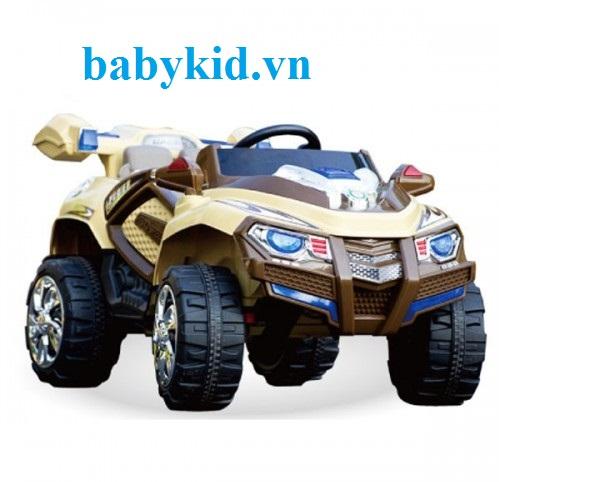 xe ô tô điện trẻ em BLK-818 màu vàng