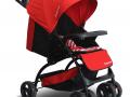 Xe đẩy trẻ em CC606A màu đỏ