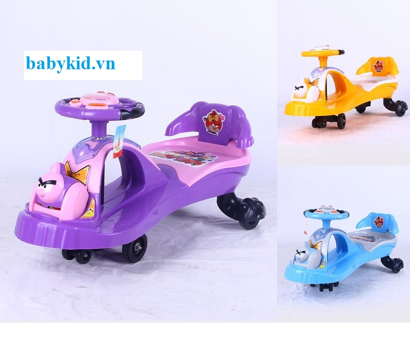 Xe lắc trẻ em TS-686 đủ các màu sắc