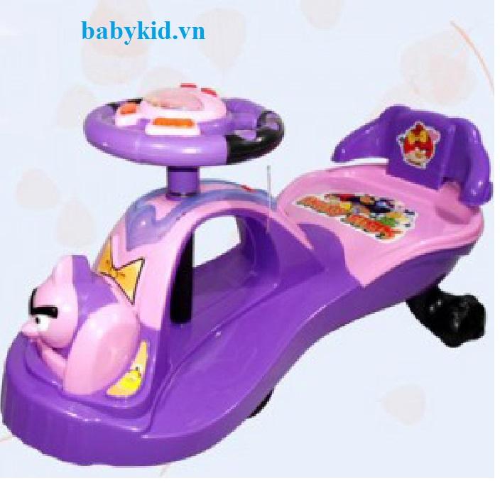 Xe lắc trẻ em TS-686 màu tím