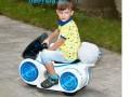 xe máy điện trẻ em 9803 màu trắng
