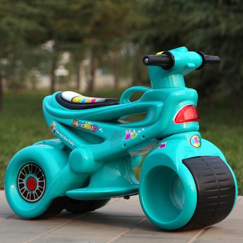 Xe máy điện trẻ em MS-5188 màu xanh dương
