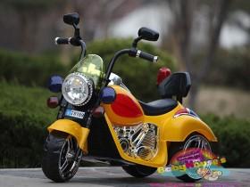Xe máy điện trẻ em 9189 màu vàng