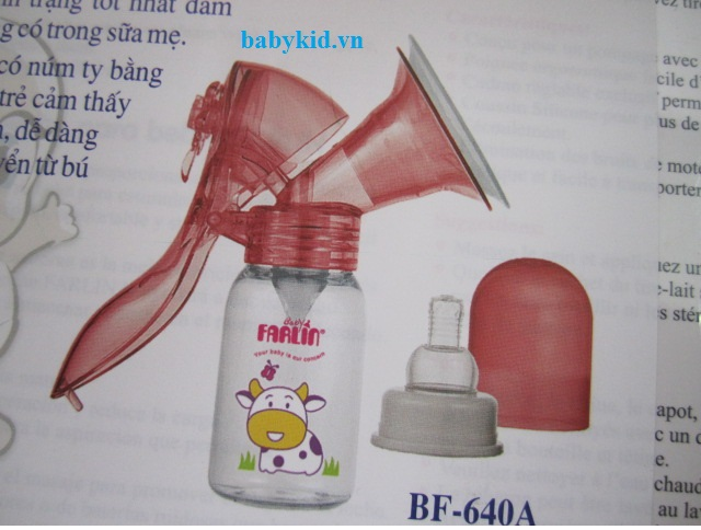 Máy hút sữa Farlin BF.640 ( bằng tay)