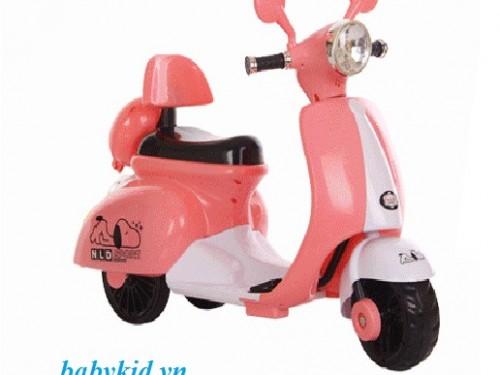 xe-máy-điện-trẻ-em-3279-màu-hường