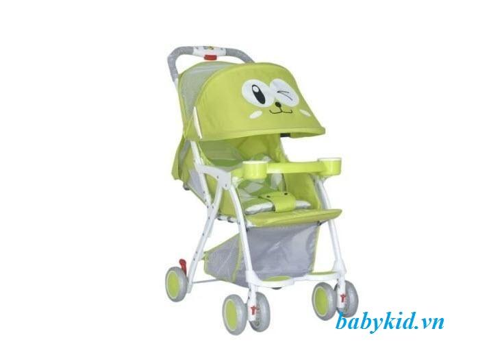 xe-đẩy-trẻ-em-711-màu-xanh