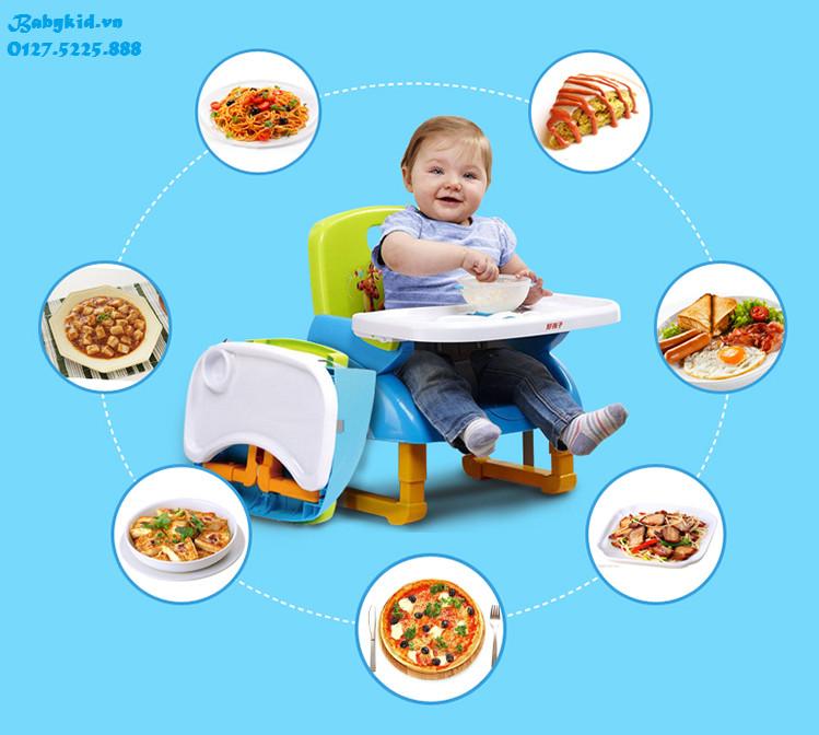 ghế ăn dặm trẻ em 01