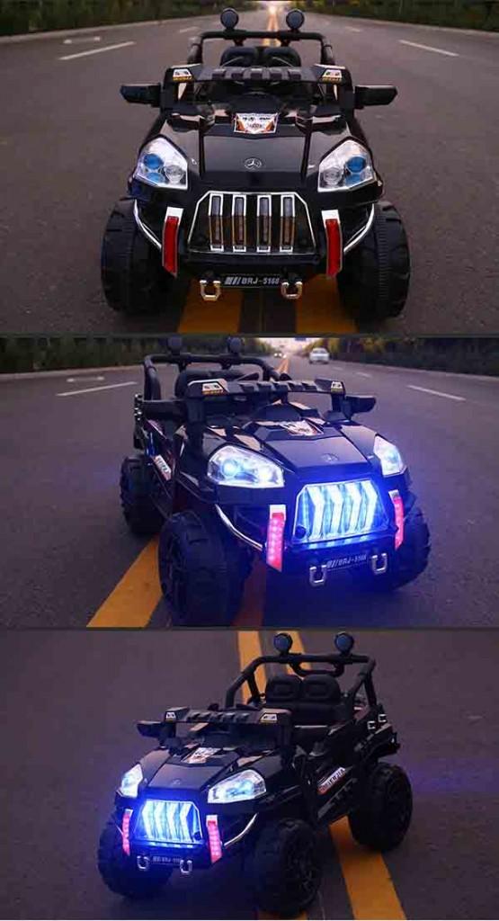 Xe ô tô điện trẻ em BRJ-5168 màu đen