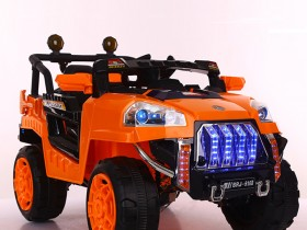 Xe ô tô điện trẻ em BRJ-5168 màu cam