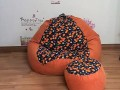 ghế lười hạt xốp dáng lê GL 01 (3)