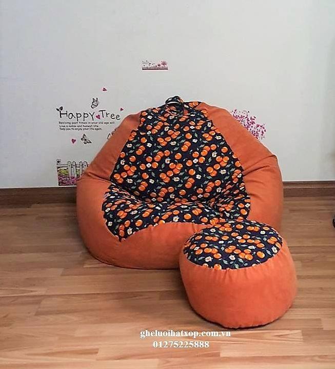 ghế lười hạt xốp dáng lê GL 01
