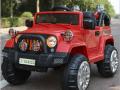 xe ô tô điện trẻ em Jeep Fb-716 màu đỏ