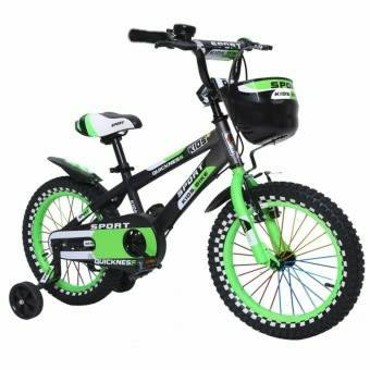 xe đạp sport xanh